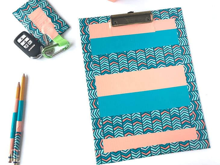 duct tape crafts - clipboard