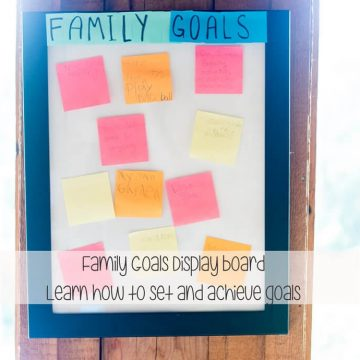 teach goal setting and achieving