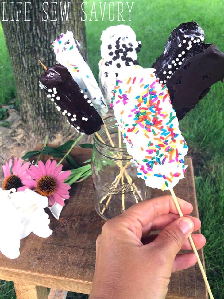 Frozen Twinkie Dessert from Life Sew Savory