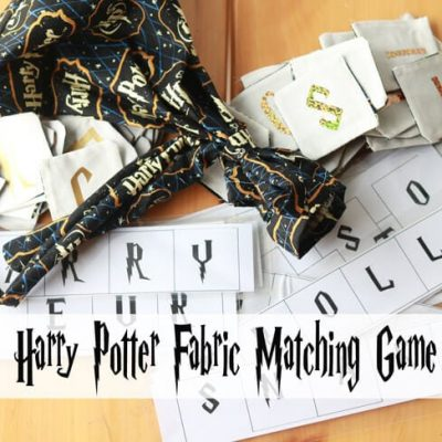 Harry Potter Game – Memory with Cricut Cut file