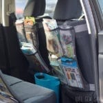 seat back organizer sewing tutorial for car organization