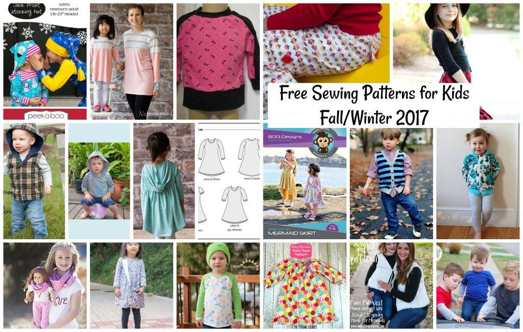 Free Sewing Patterns For Kids Fallwinter 2017 Life Sew Savory