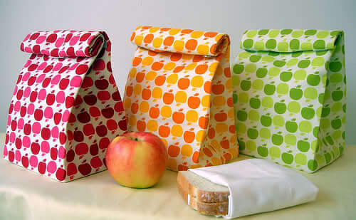 lunch bag sewing patterns for back to school life sew savory. Black Bedroom Furniture Sets. Home Design Ideas