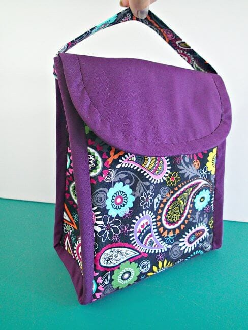 Lunch bag sewing patterns for Back to School - Life Sew Savory