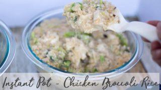 Instant Pot Chicken Rice Broccoli Recipe