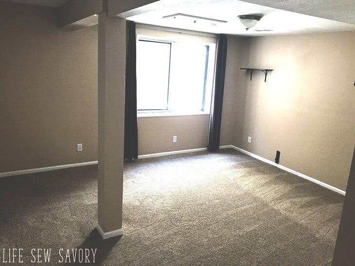 new house basement
