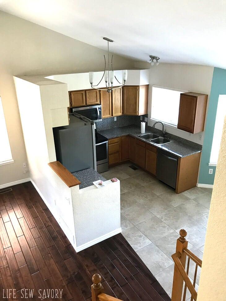 new hosue high kitchen