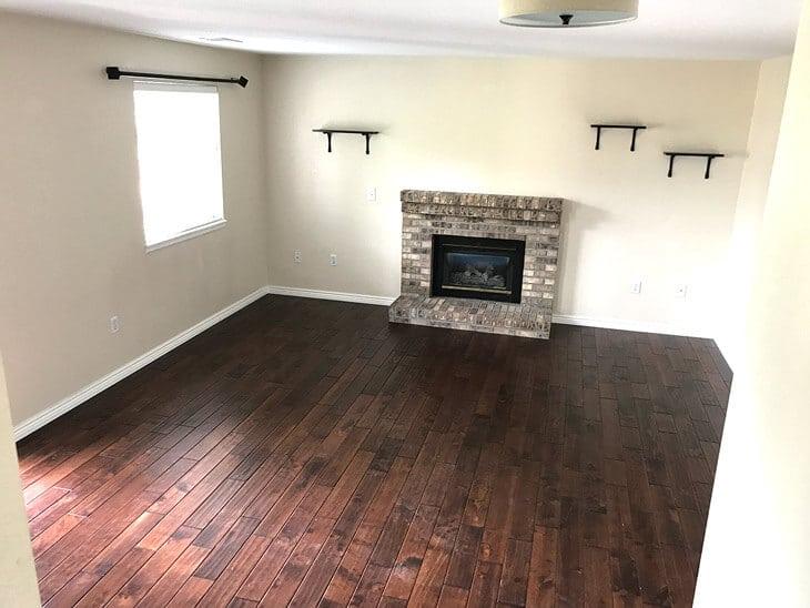 new house update living room