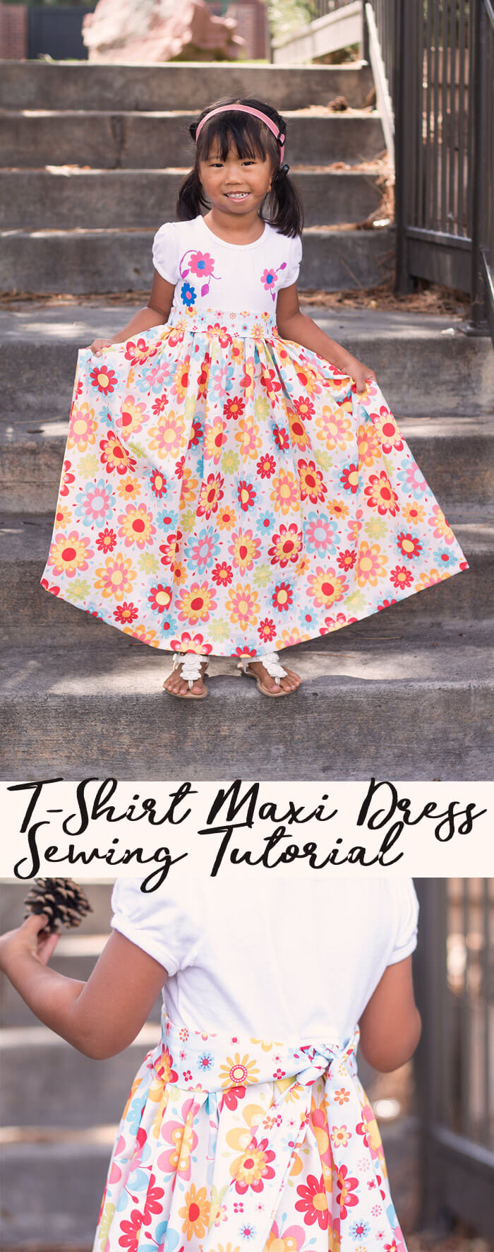 Maxi Dress Pattern sewing tutorial from Life Sew Savory