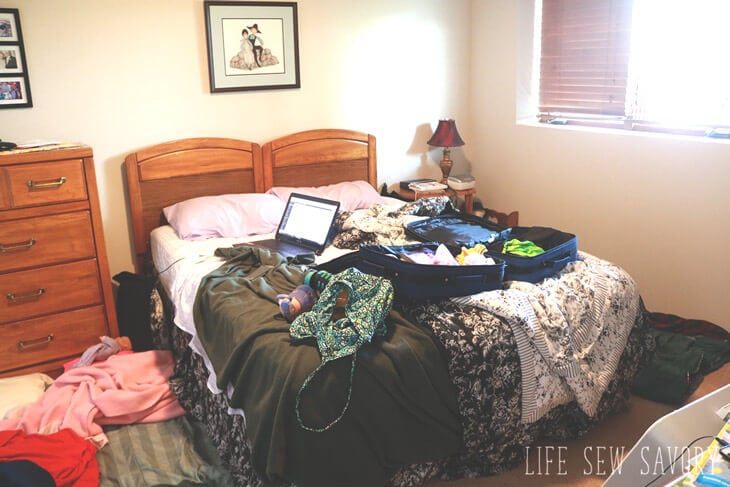 Thompsons bedroom stay