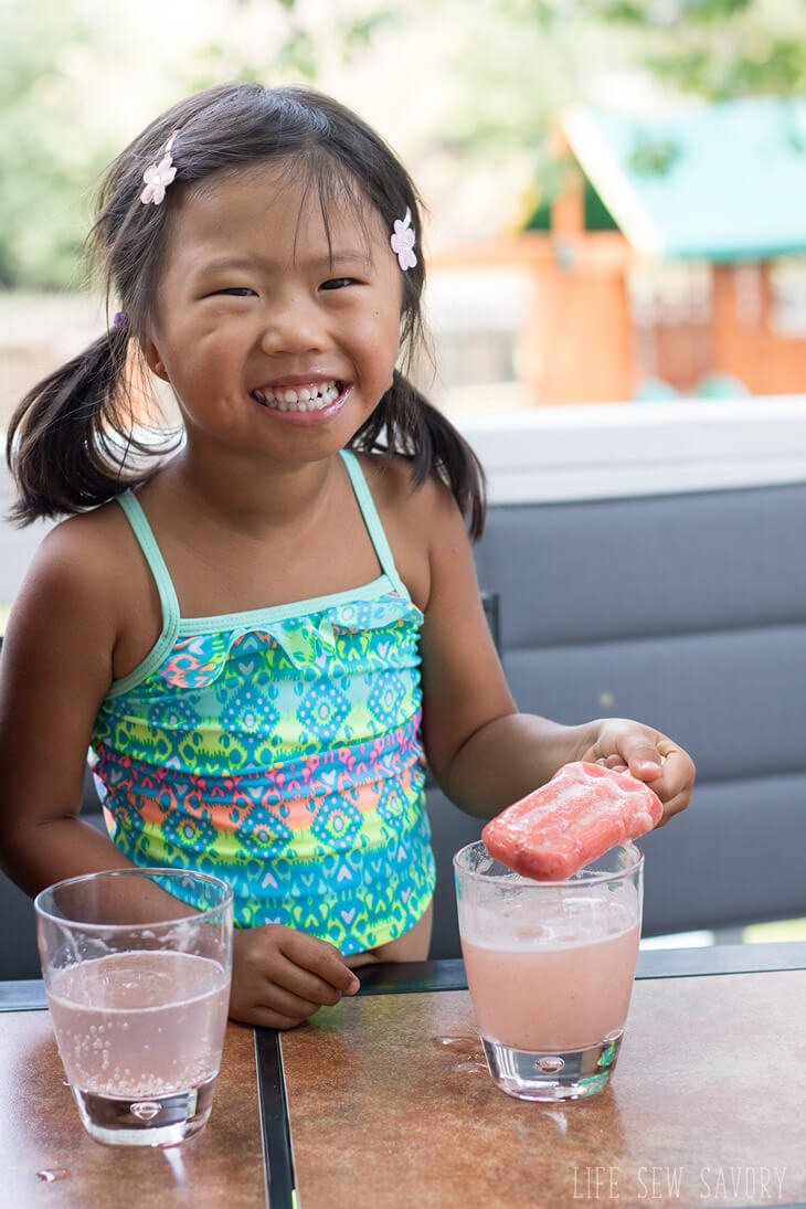 Fizzy Fruit Bars for fun summer afternoons