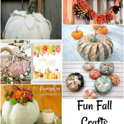 Fun Fall Crafts and Create Link Inspire Party