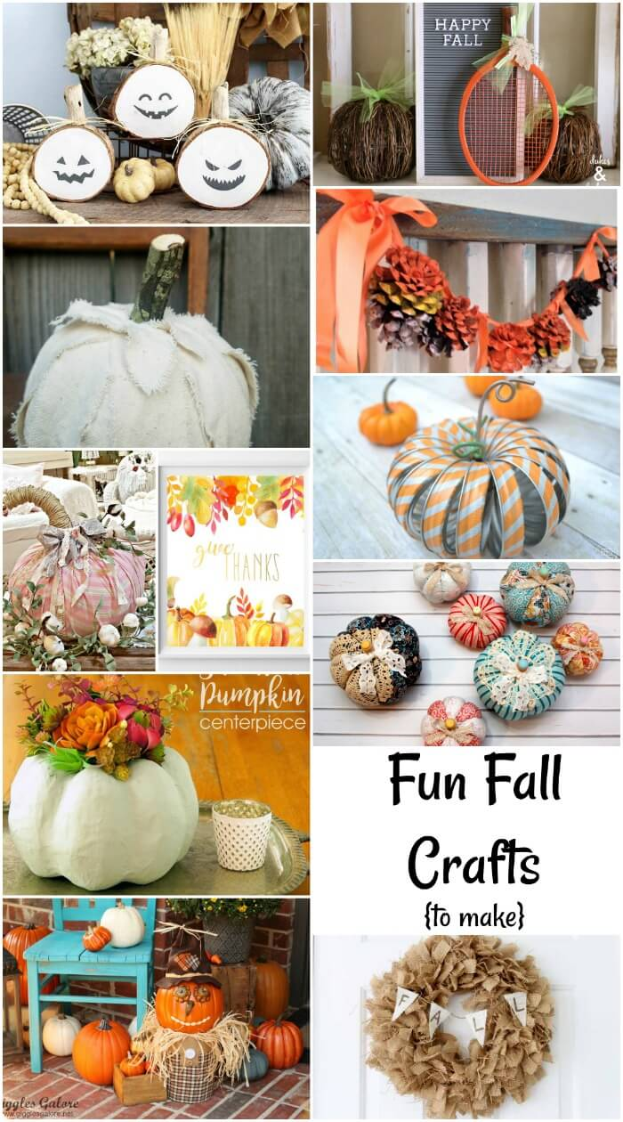 Fun Fall Crafts from Life Sew Savory