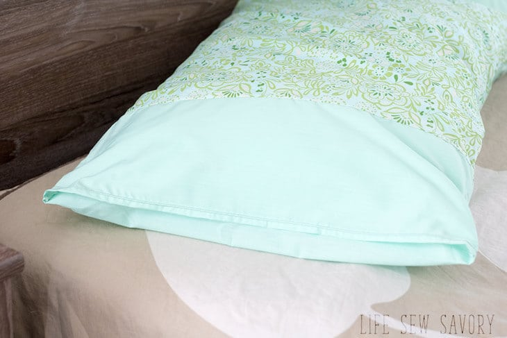 Simple pillowcase tutorial