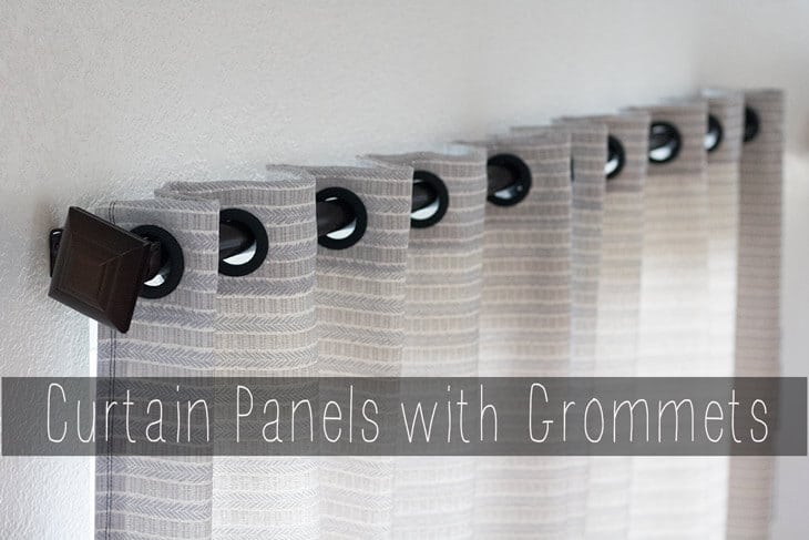 Curtain panels with Grommets