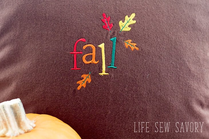 Fall Embroidery with Brother Embroidery Machines