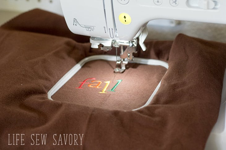 Brother Embroidery Machine - EASY FAST embroidery