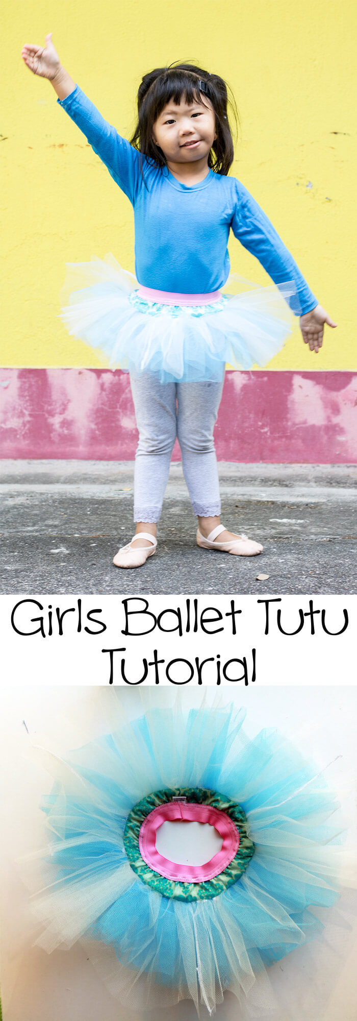Classic Ballet tutu sewing tutorial by LIfe Sew Savory