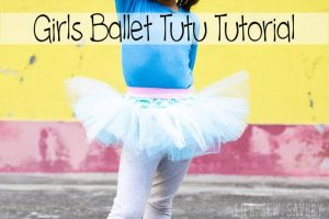 Classic Ballet Tutu Sewing Tutorial