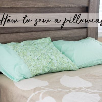 How to Sew a Pillowcase and Using Your Talents for Ronald McDonald House Charities