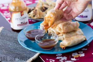 Baked Chicken Eggrolls