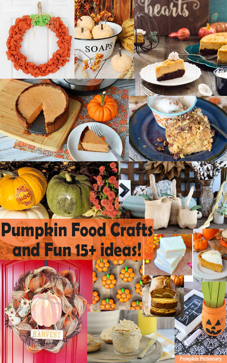 Pumpkin food crafts and fun from Life Sew Savory