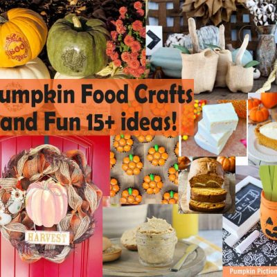 Ultimate Pumpkin Food & Crafts & Create Link Inspire