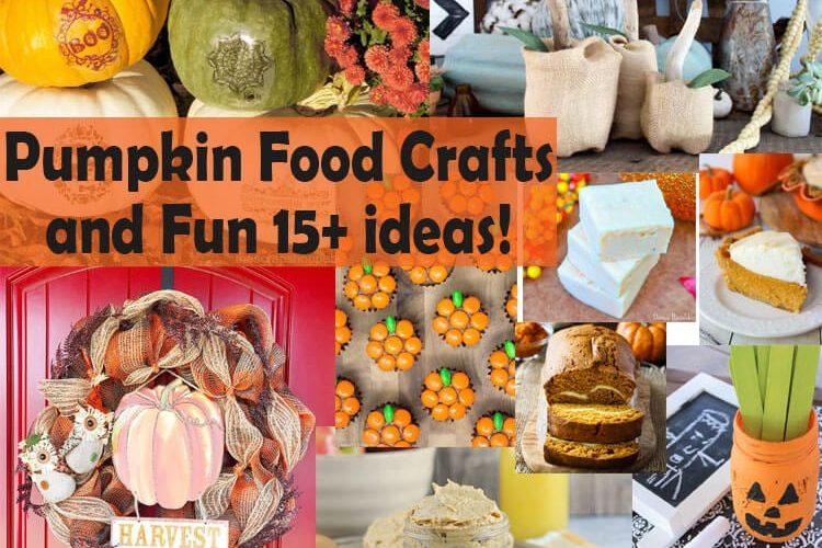 pumpkin food crafts and fun