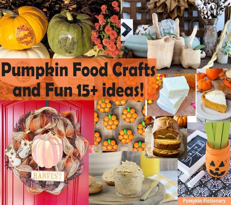 Ultimate Pumpkin Food & Crafts & Create Link Inspire