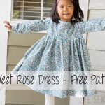 Free Dress Pattern – Girls Sweet Rose Dress