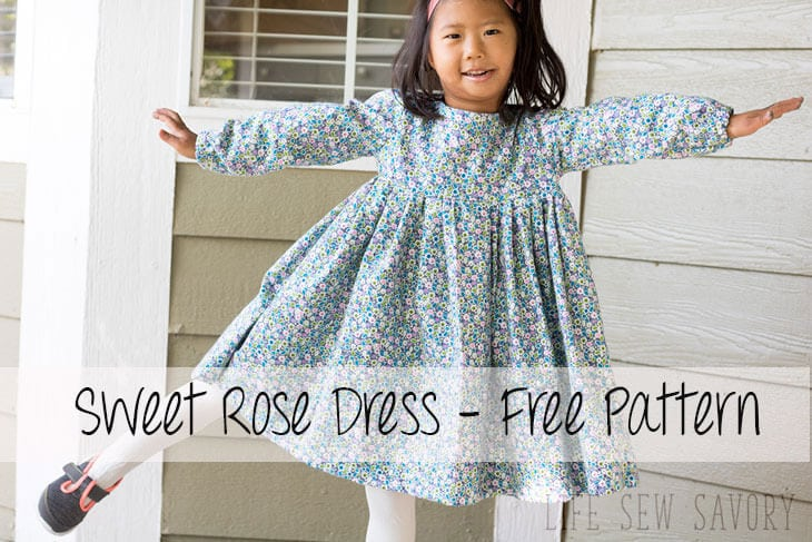 free dress pattern for girls