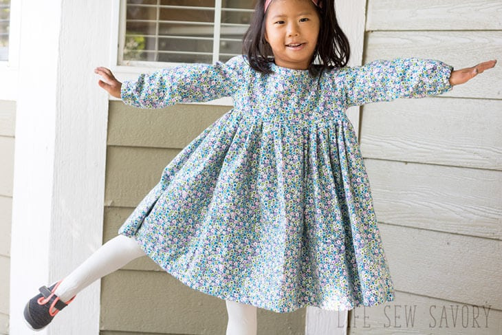 free dress pattern sweet rose dress