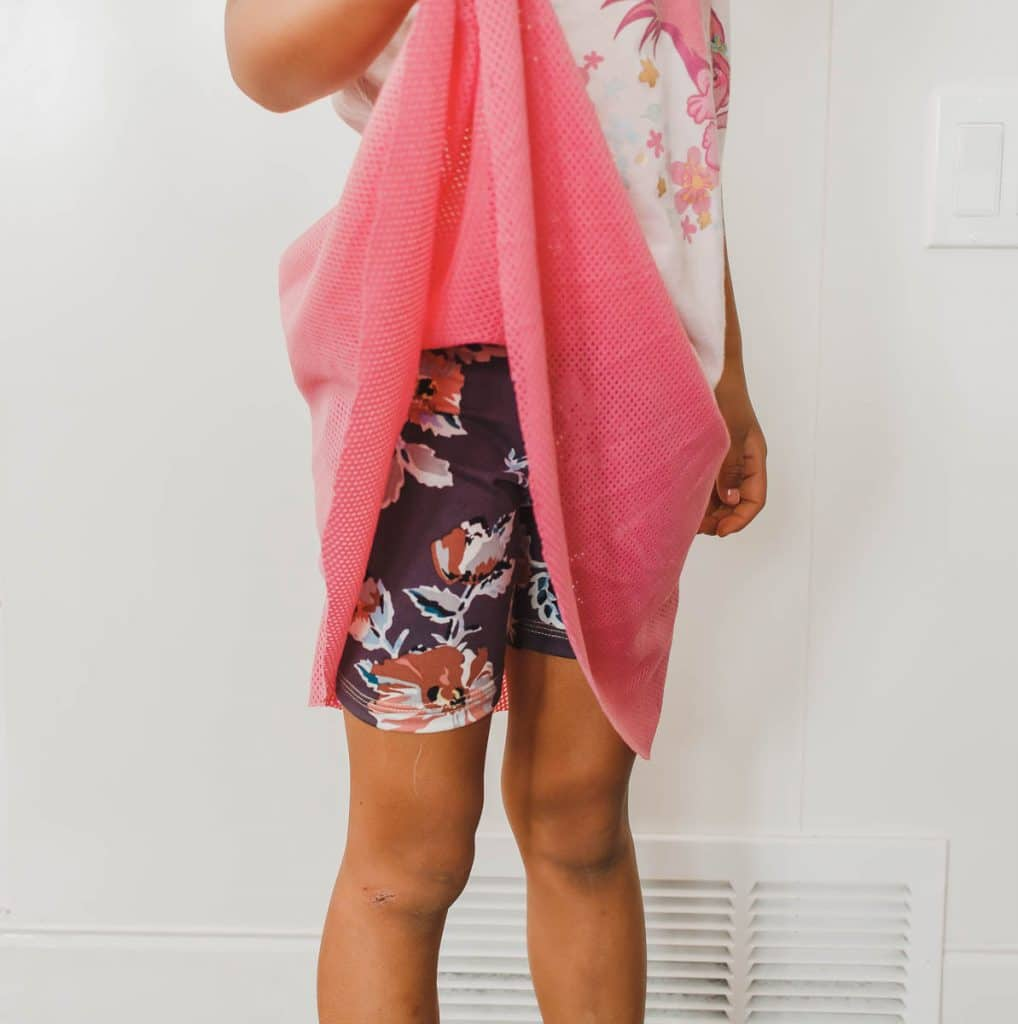 half circle skirt with leggings attached