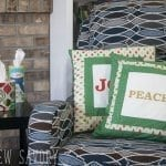 DIY CHristmas decor Pillows