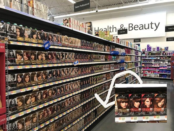 Walmart store photo of Schwarzkopf Color Ultime