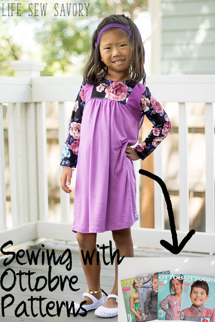 Ottobre sewing magazines review from Life Sew Savory
