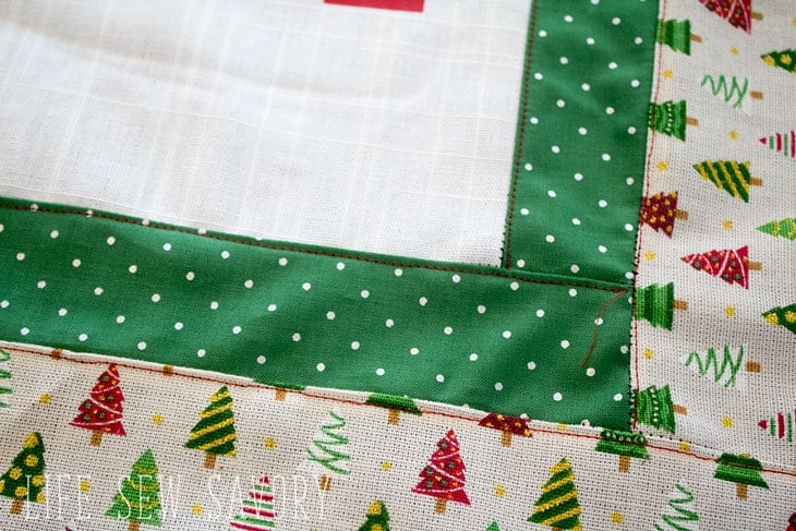 DIY Christmas Pillow