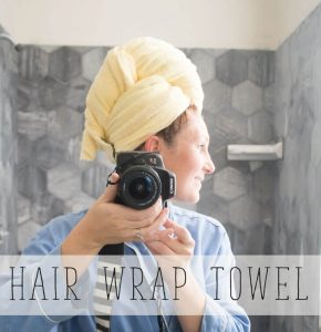 Hair Towel Wrap Sewing Tutorial with Schwarzkopf Color Ultime