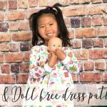 Girl and Doll Matching Dress Free Sewing Patterns