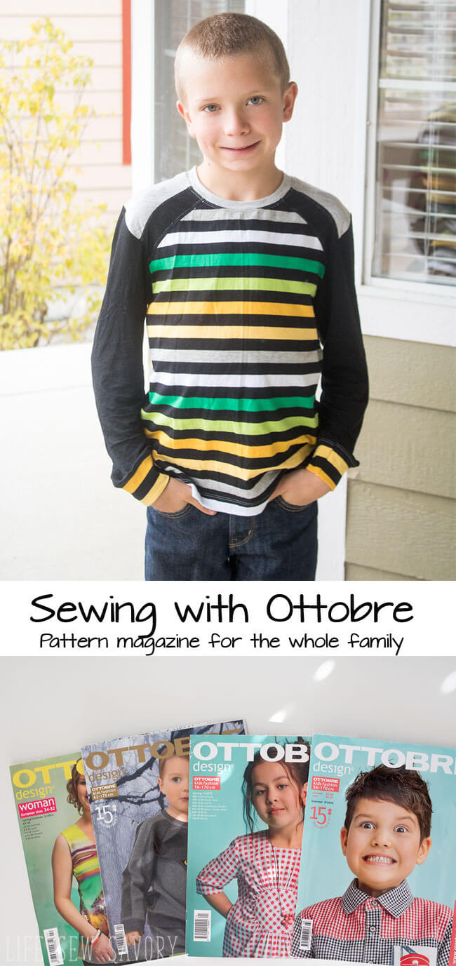 ottobre sewing magazine review from Life Sew Savory