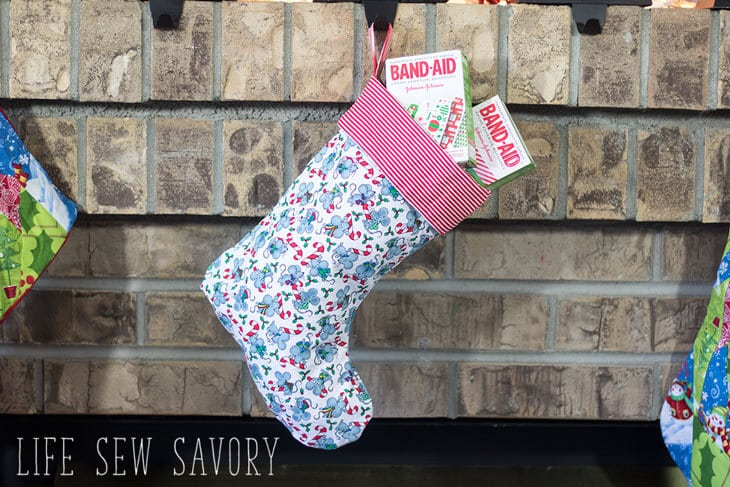 Christmas Stocking Sewing Pattern FREE Plus Stocking Suffer Ideas Stunning Christmas Stocking Sewing Pattern