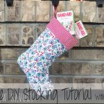 Christmas Stocking Sewing Pattern FREE plus stocking suffer ideas!