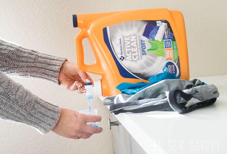 Active clean detergent