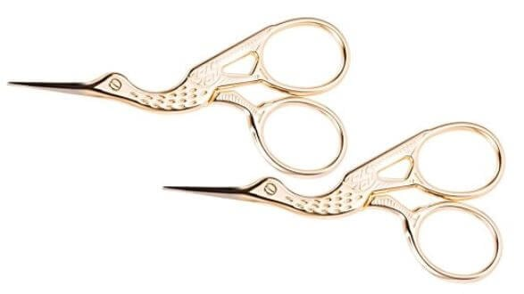 bird sewing scissors
