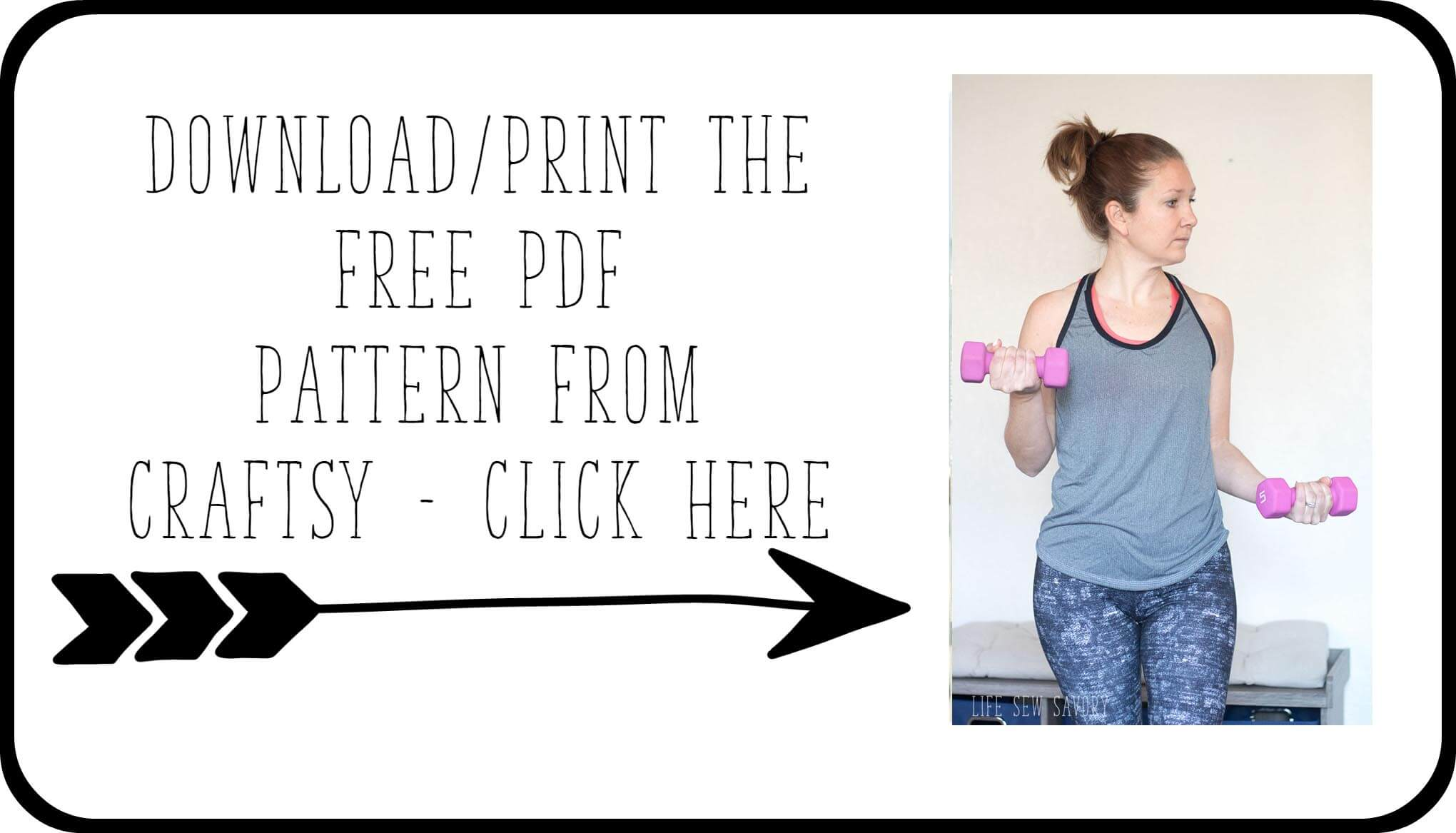 dowload the free sewing pattern