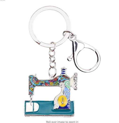 sewing machine key chain