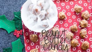 Peanut Butter Candy for Christmas