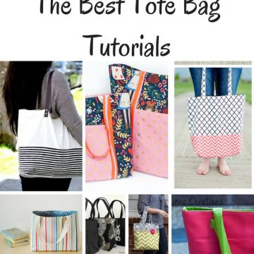The Best Tote Bag Tutorials