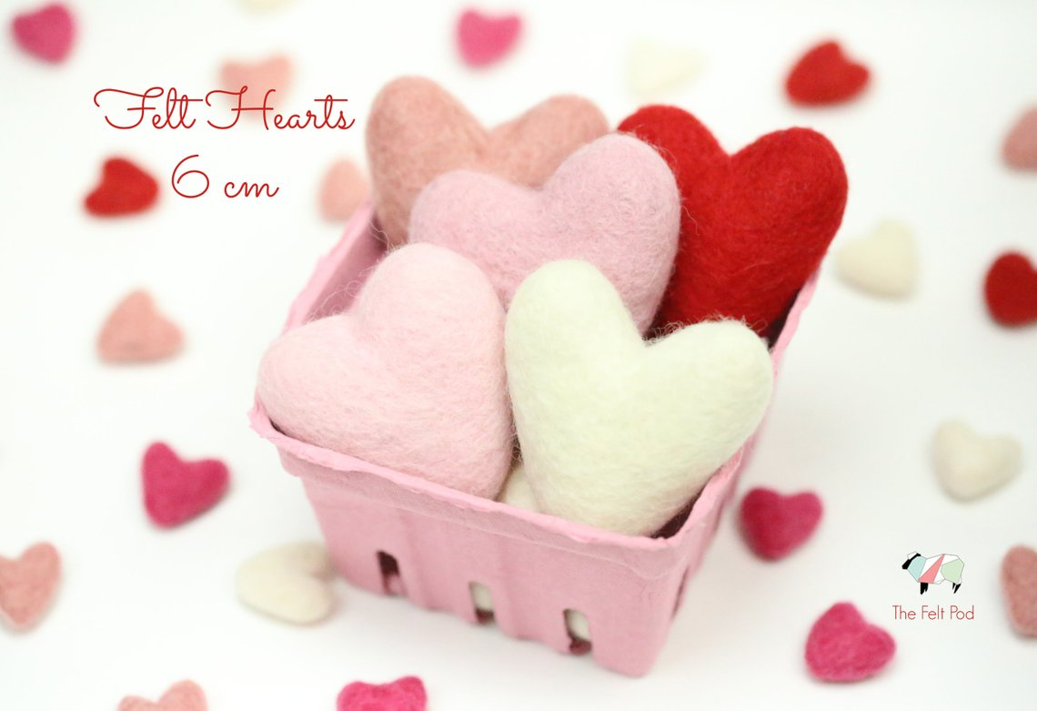 felt valentines crafts