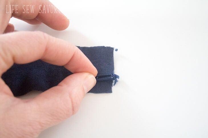 Sweatshirt tunic tutorial free sewing pattern